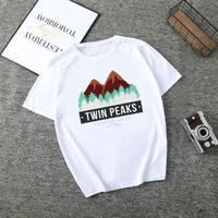 Twin Peaks  ツインピークス  レディース 女性 tシャツ グッズ ドラマ  衣装 コスチューム 小道具 海外限定 非売品 映画グッズ 映画関連  13