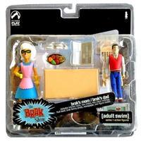 アダルトスイム Adult Swim パリセーズ Palisades Toys フィギュア おもちゃ The Brak Show Mom & Dad Action Figure 2-Pack