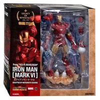 アイアンマン Iron Man リボルテック Revoltech フィギュア おもちゃ Legacy of Action Figure LR-040 [Mark VI]