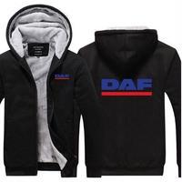 送料無料 高品質 DAF ダフ トラック   パーカー   スウェット   ウール ライナー ジャケット 海外限定  7