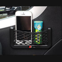 アウディ スマホ置き スマートフォン ネット ケース Audi カーインテリア h00373