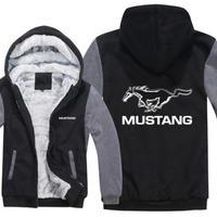 高品質  フォード マスタング 50years  あったかい フリースパーカー ジップアップ  衣装 コスチューム 小道具 海外限定 非売品 映画グッズ 映画関連 Ford Mustang  3