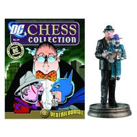 ディーシー イーグルモスパブリケーションズ EAGLEMOSS PUBLICATIONS DC Superhero Chess Figure  - Ventriloquist Black Pawn