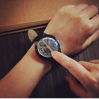 【限定品!!ユニークデザインウォッチ】ファッション LED腕時計 メンズ 海外ブランド SOXY ブラック1