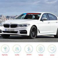 BMW ペア Mパフォーマンス 2018 BMW X1 3 5 6 Z4 M2 M3 M4 M5 e46 e60 e39 e90 f15用 フロント リア シールド デカール ステッカー h00024