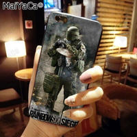 レインボーシックス シージTPU シリコン Iphone ケース アイフォンケース  Tom Clancy's Rainbow Six Siege R6S シージグッズ 8