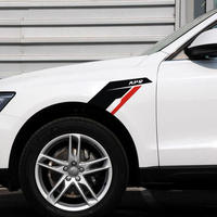 BMW ステッカー 2個入 Mパワー E90 F30 F10 X1 X3 X5 X6 E46 E36 E60アウディTT A3 A5 A6 A7 A8 フェンダー h00210