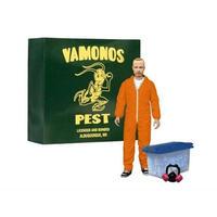 """ブレイキング バッド メズコ MEZCO TOYZ Breaking Bad 6"""" Jesse Pinkman - Vamonos Pest Orange Hazmat Suit Exclusive"""