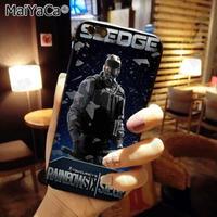 レインボーシックス シージTPU シリコン Iphone ケース アイフォンケース  Tom Clancy's Rainbow Six Siege R6S シージグッズ 9