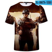レインボーシックス シージ  ゲーミング 3Dプリント Tシャツ  半袖   Tom Clancy's Rainbow Six Siege R6S シージグッズ  00679