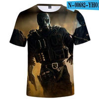 レインボーシックス シージ  ゲーミング 3Dプリント Tシャツ  半袖   Tom Clancy's Rainbow Six Siege R6S シージグッズ  00682