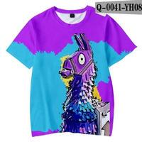 フォートナイト fortnite 子供服  3Dデザイン Tシャツ ユニセックス カジュアル半袖Tシャツ トップス  バトルロワイヤル
