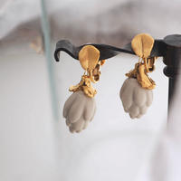 PLANT/PLANT | Artichoke clip-on Earrings