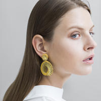 CHIKAKO YAJIMA | Mobius earrings