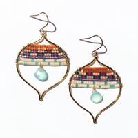 Kui Co.| Signature Earrings シーブルー