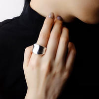 AVATE | 〈silver925〉Plump 逆甲丸 ring 7~19号[Wide]シルバーリング