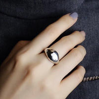 AVATE | 〈silver925〉Plump ring 7~19号[wide]ぽってりシルバーリング