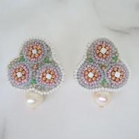 kaori shimomura | pierce or earrings Giverny