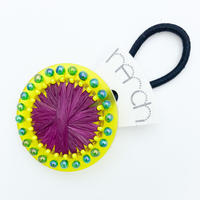 hArch |  hair tie   clear yellow × bordeaux