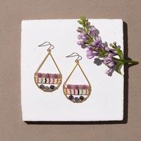 Kui Co.| Signature Earrings ストライプ