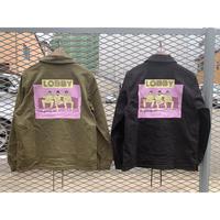 【LOBBY】Stretch Coach Jacket [Gang]
