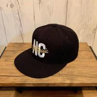 Snapback Cap [NC × Cursive Logo]