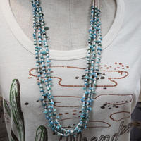 Indian jewelry Hishi and turquoise necklace