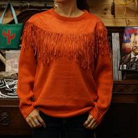 Wrangler Retro Women's Faux Suede Fringe Sweater #LWK763R