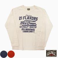 "GUNZ L/S Tee""Hart Cream"""