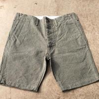 Cushman MIX CANVAS SHORT PANTS(ミックスベージュ) size34