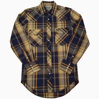 Wrangler L/S western shirt(イエロー)