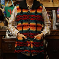 PANHANDLE Lady's Aztec Jacquard Vest-3 size S