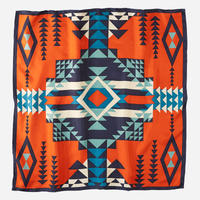 PENDLETON Silk Scarf(Pilot Rock Red)
