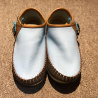 FUNNY Moccasin squaw sandals