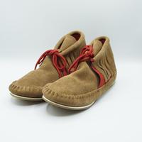 FUNNY Moccasin Fringe Boots