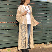 Scully Long lace cardigan