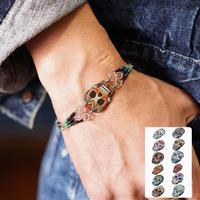El Paso Skull beads bracelet