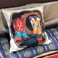 Cushion cover(ブーツ1)