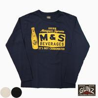 """GUNZ L/S Tee""""M&S"""""""