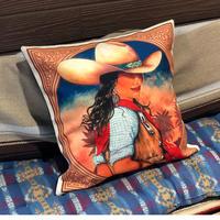 Cushion cover(カウガール)