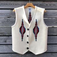 ORTEGA'S CHIMAYO vest (38.ホワイト)