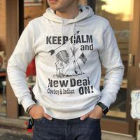 NewDeal Original pullover hoodie(オートミール)