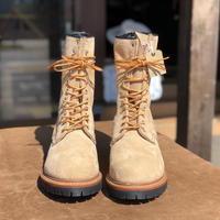 """RED WING 9"""" LOGGER BOOTS 9211 size 9 D(ベージュ)"""