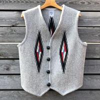 ORTEGA'S CHIMAYO vest (42.ライトグレー)