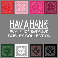 HAV-A-HANK TRADITIONAL PAISLEYS BANDANA
