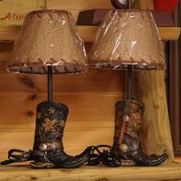 The Prairie Schooner Western Boots Night Light Set Of 2