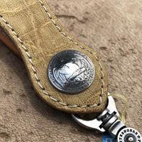 FUNNY Arrow head loop key holder Elephant(イエロー)