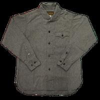 Cushman Mix chambray marine shirts #25558(ミックスブラック)
