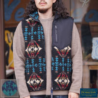 PENDLETON Jacquard Boa Fleece Vest