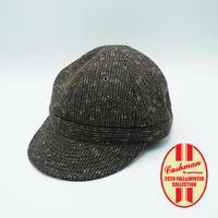 Cushman Beach Cloth Cap #29320(Mix Brown)